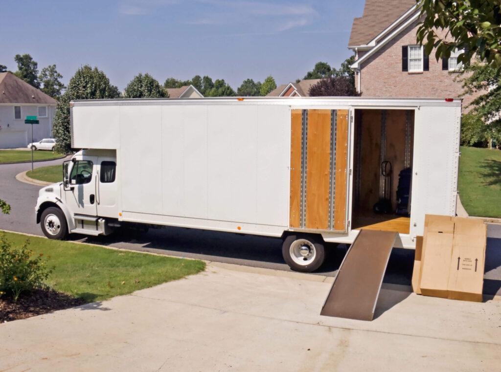 Relocating van
